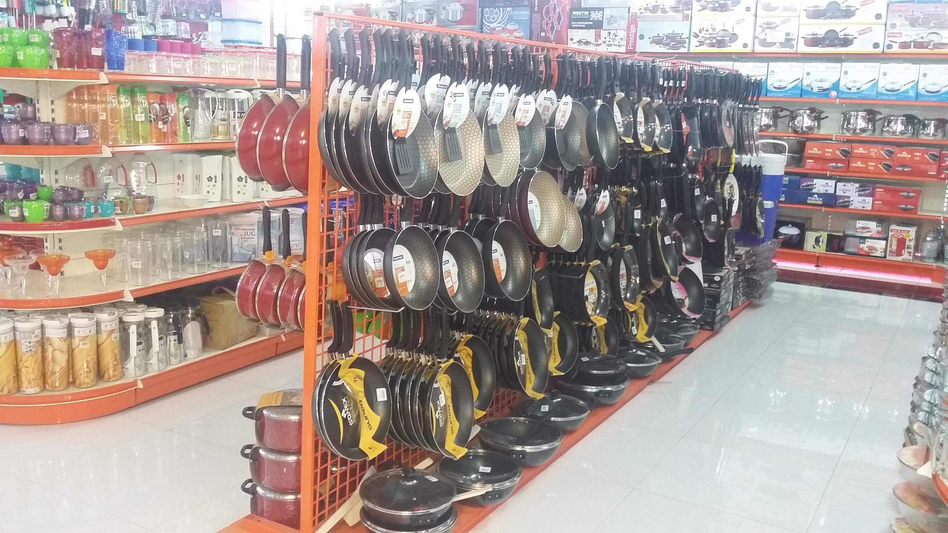 Mesh Wire Rack - Store Space Racks